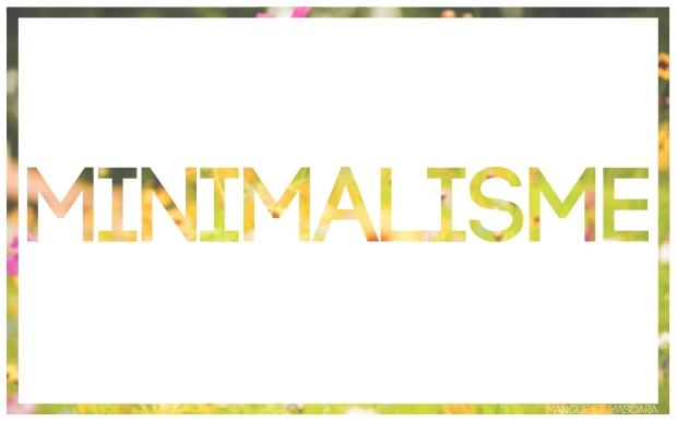 Minimalisme ce n'est pas pour moi